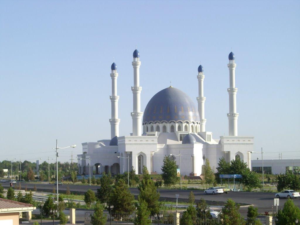 Mosque in Mary, Turkmenistan, Мары