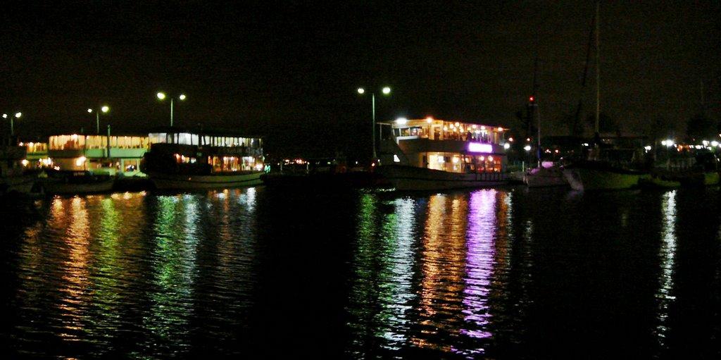 A night scenic from marina *©Abdullah Kiyga, Измит