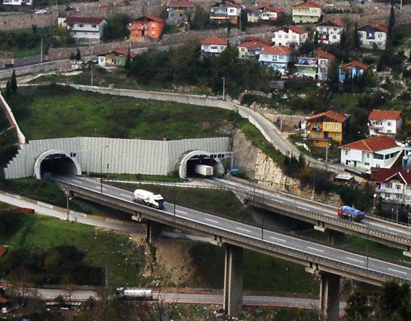 tunnels & viaduct *©Abdullah Kiyga, Измит