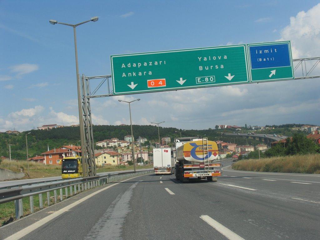 E80 Otoban İst-Ank  www.islam-dini.com, Измит