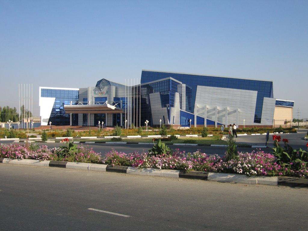 Ferghana, tennis-court, Алтынкуль