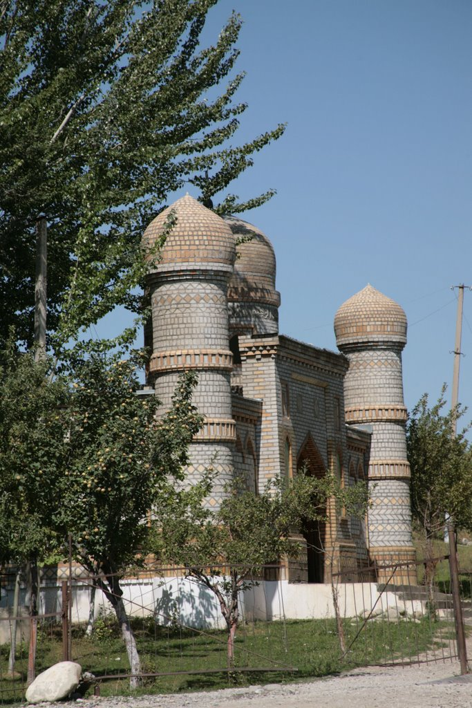 Yangy-Nookat, mosque, Алтынкуль