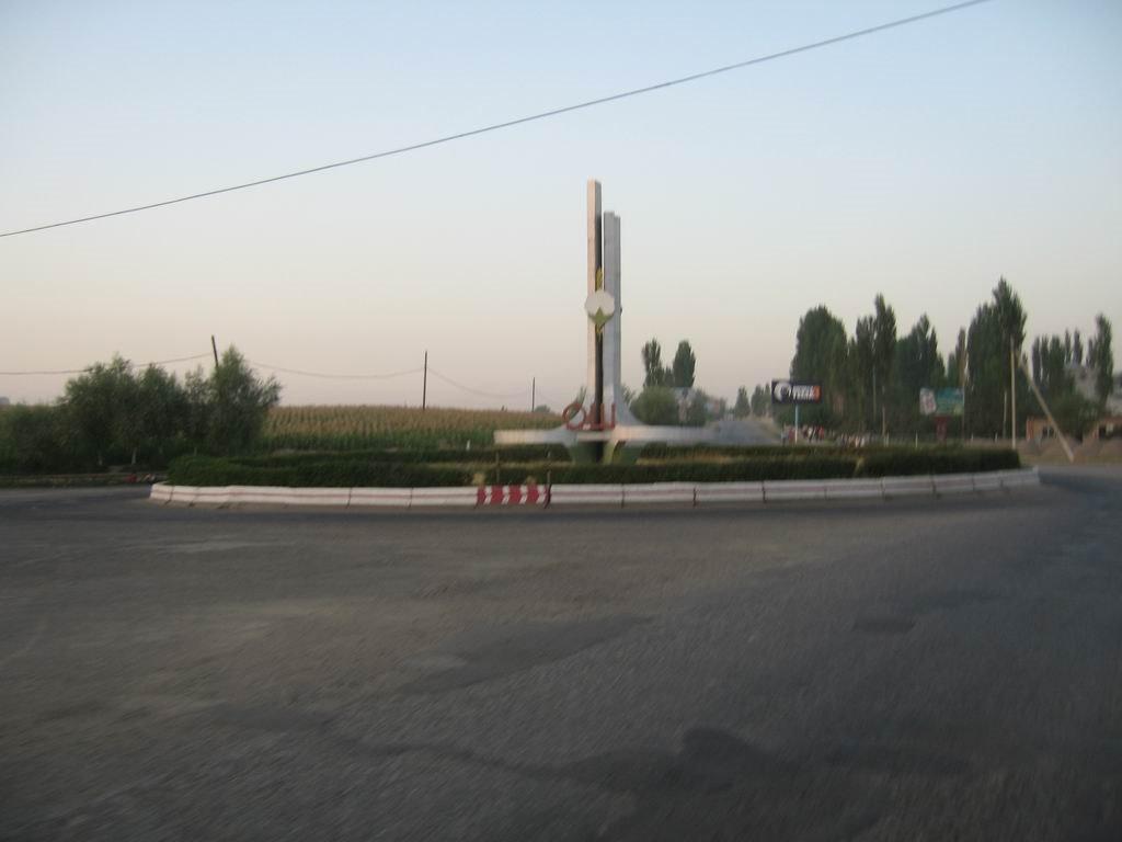 Osh city, ring road junction, Алтынкуль