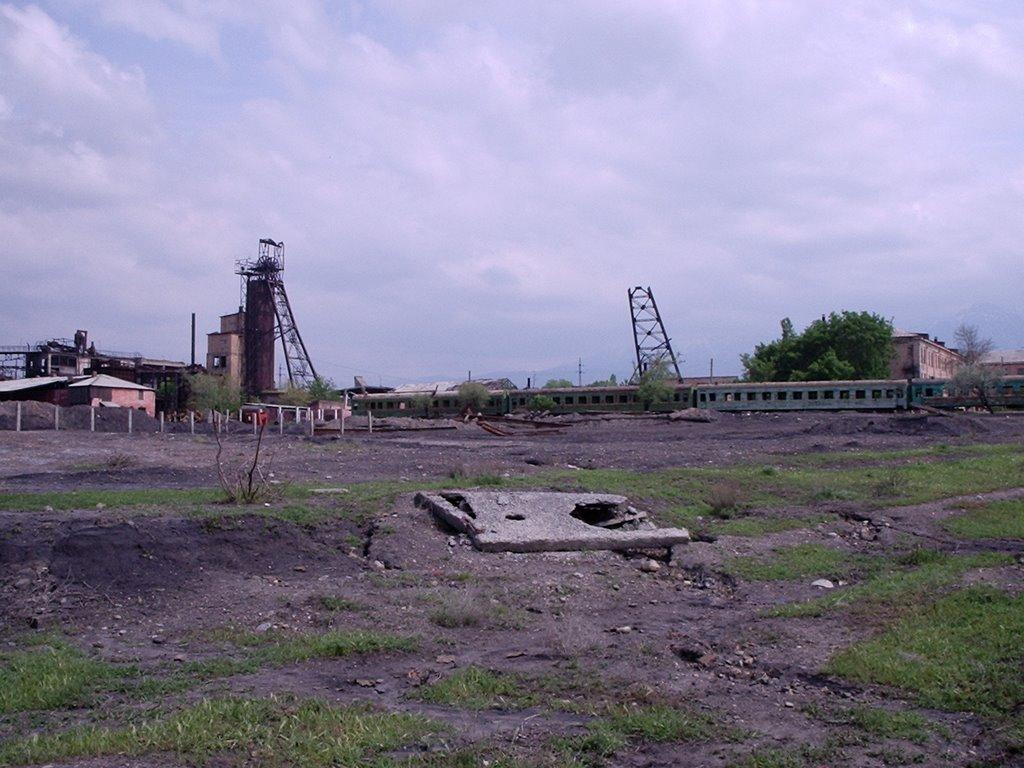 Kyzyl-Kiya, coal mine, 2004, Балыкчи