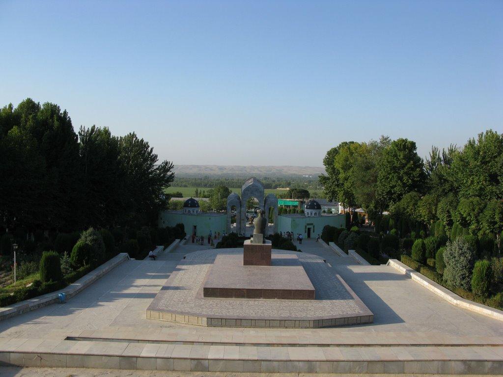 Andizhan, Babur park, Балыкчи
