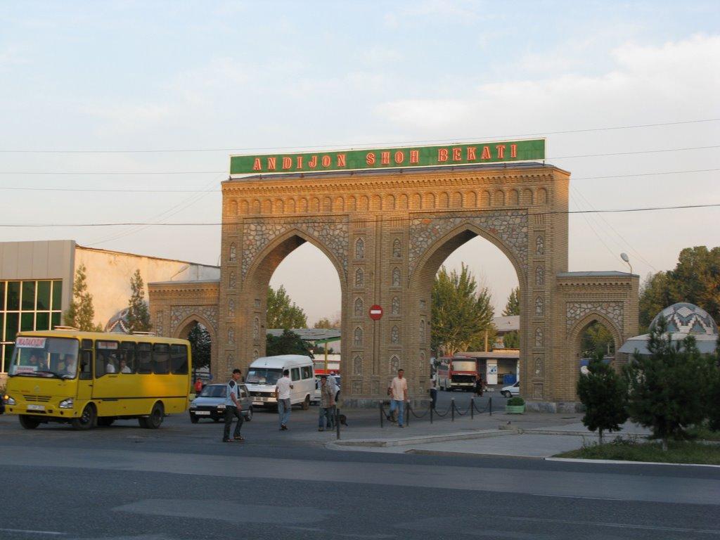 Andizhan, bus station, Балыкчи