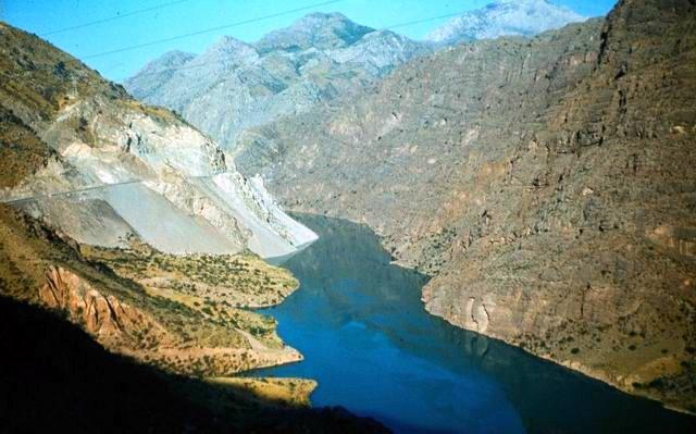 Курпсайское водохранилище, Балыкчи