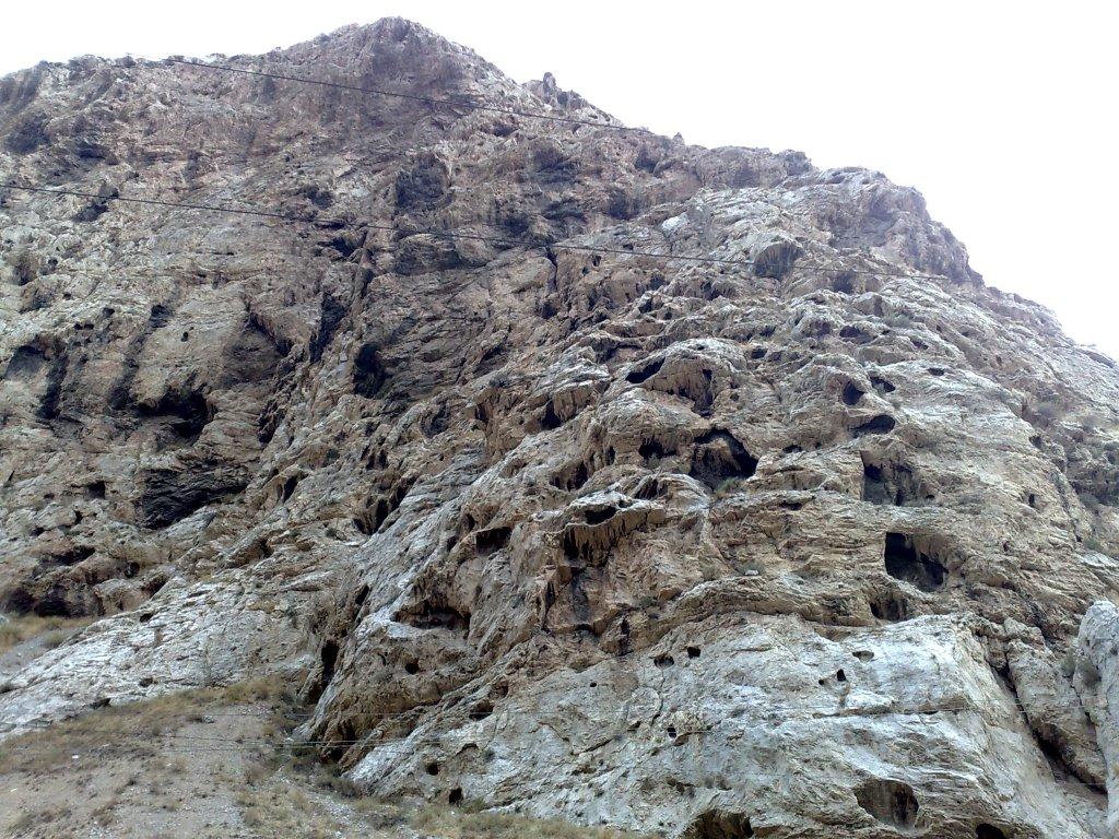 Calizas karstificadas y erosionadas, Балыкчи