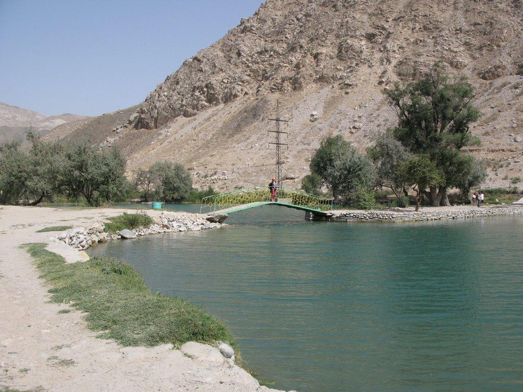 Kadamzhay, recreation zone, Балыкчи