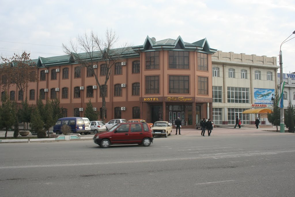 Гостиница около вокзала, Ленинск