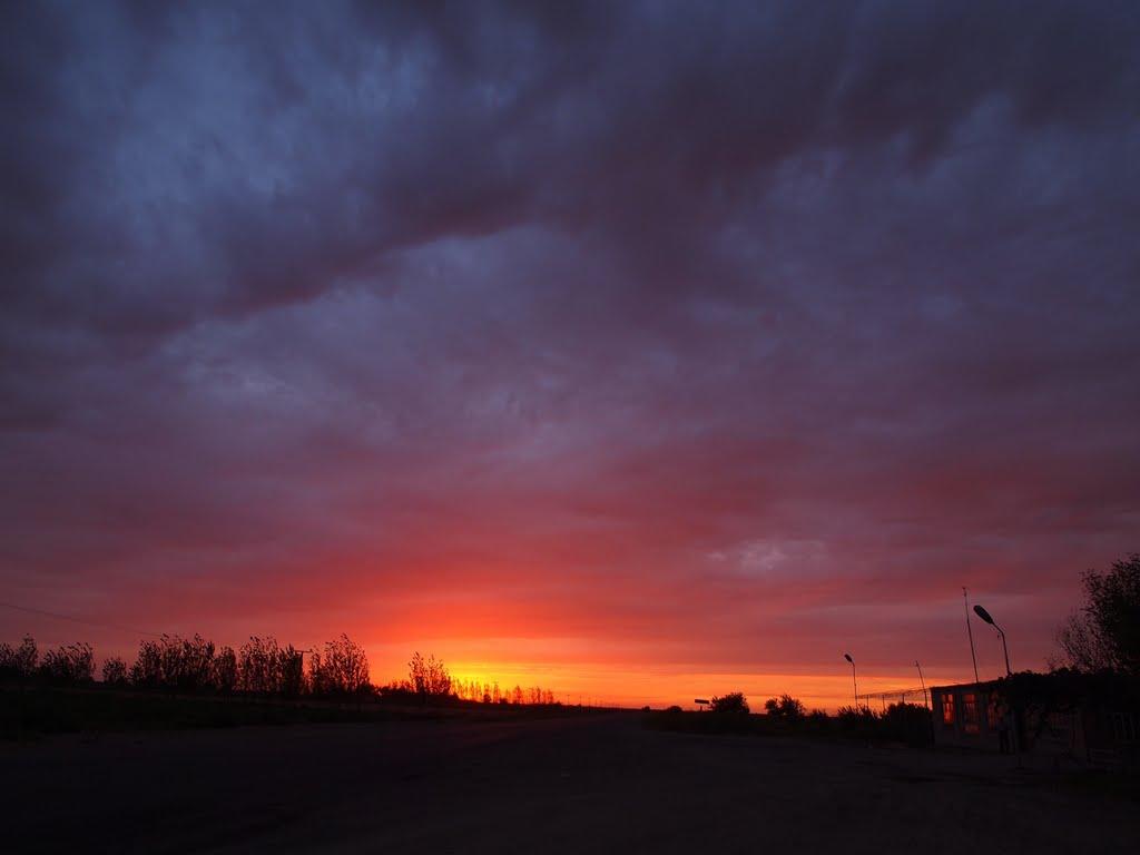 sunset at Uzbekistan(ウズベキスタン) 2011, Алат