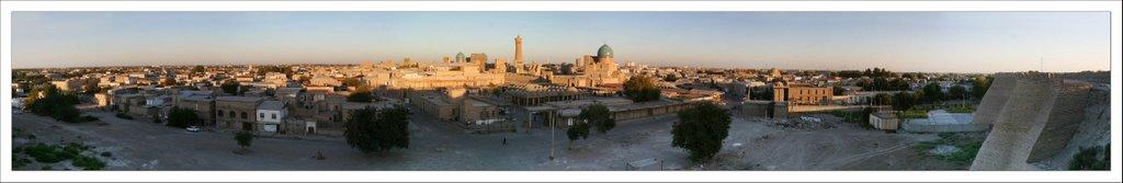 Panorama Bukhara - Uzbekistan, Бухара