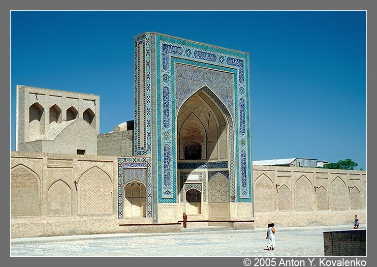 Bukhara, Ulugbek madrasa, Бухара