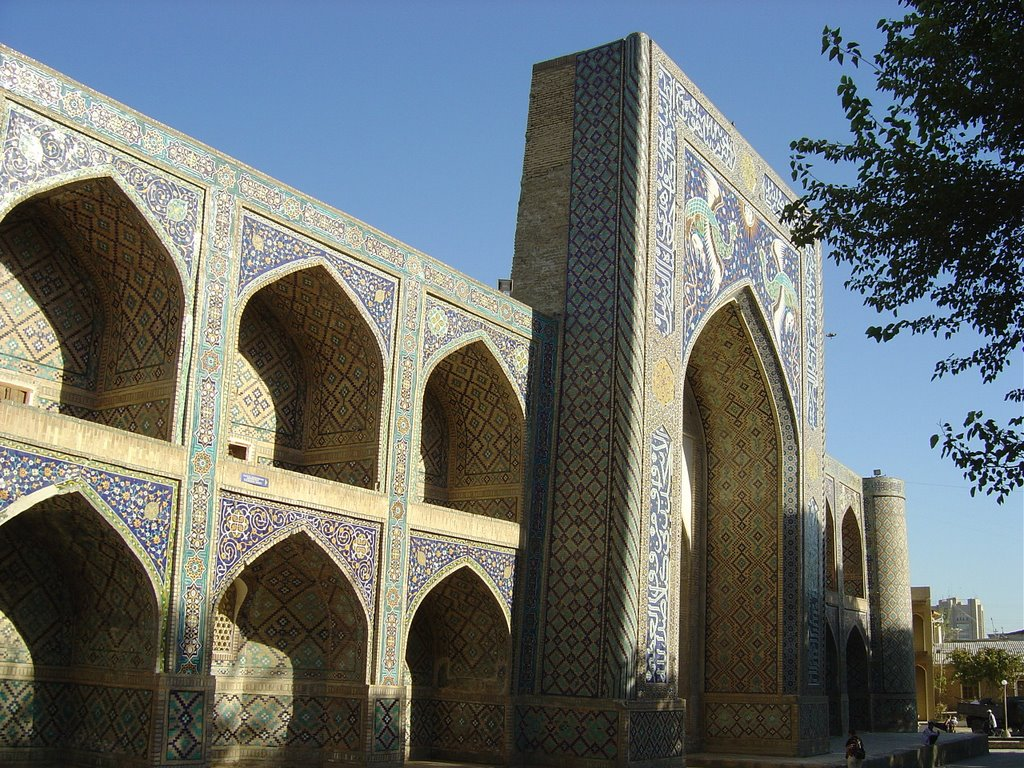 Bukhara-Nadir Divanbegi, Бухара