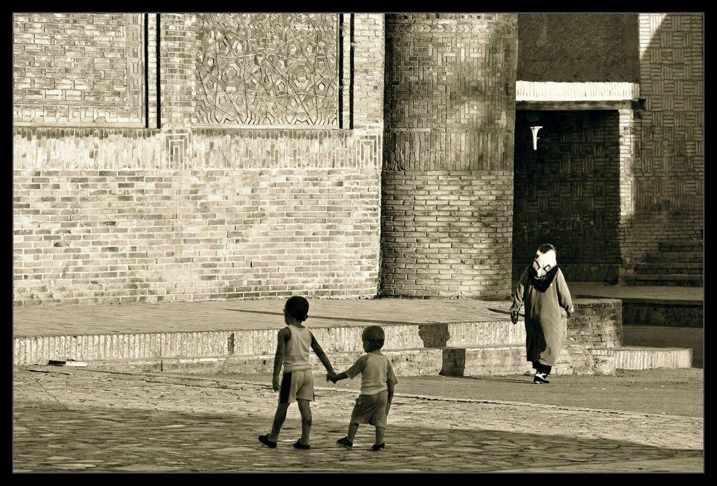 .. hand in hand .., Бухара