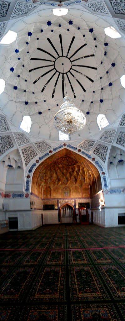 Vertical Panoramic View of Bolo Hauz Mosque (Bukhara, Uzbekistan), Бухара