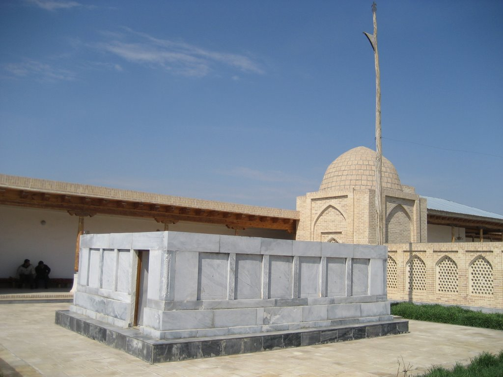 14 Muhammed Bâbâ Semmâsî kuddise sirruh Buhara, Özbekistan, Газли
