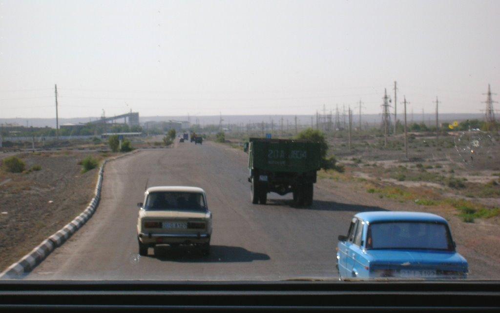 Road to Bukhara (off Khiva), Газли