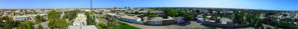 360° - Karakul town, Bukhara, Газли
