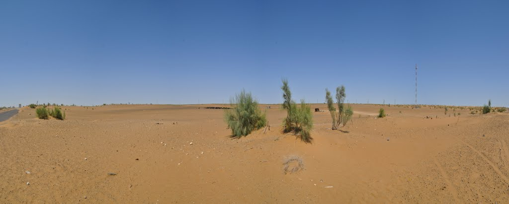 The Kyzyl Kum the 11th largest desert in the world in Uzbekistan., Газли