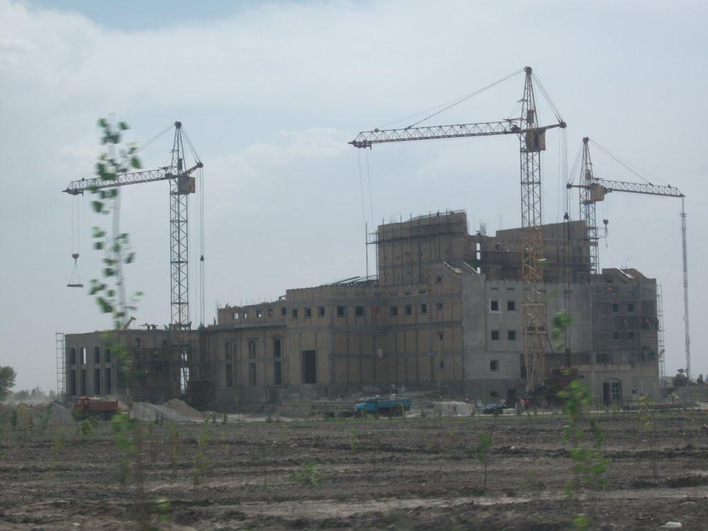 Bukhara, New drama theatre, Галаасия