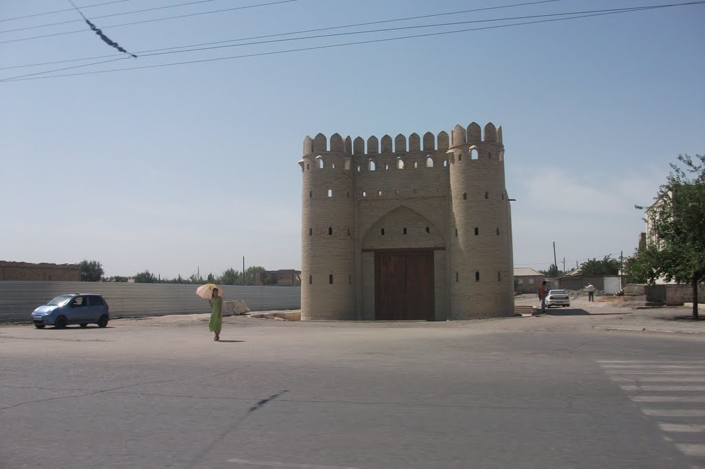 Bukhara. Samarkand gate, Галаасия