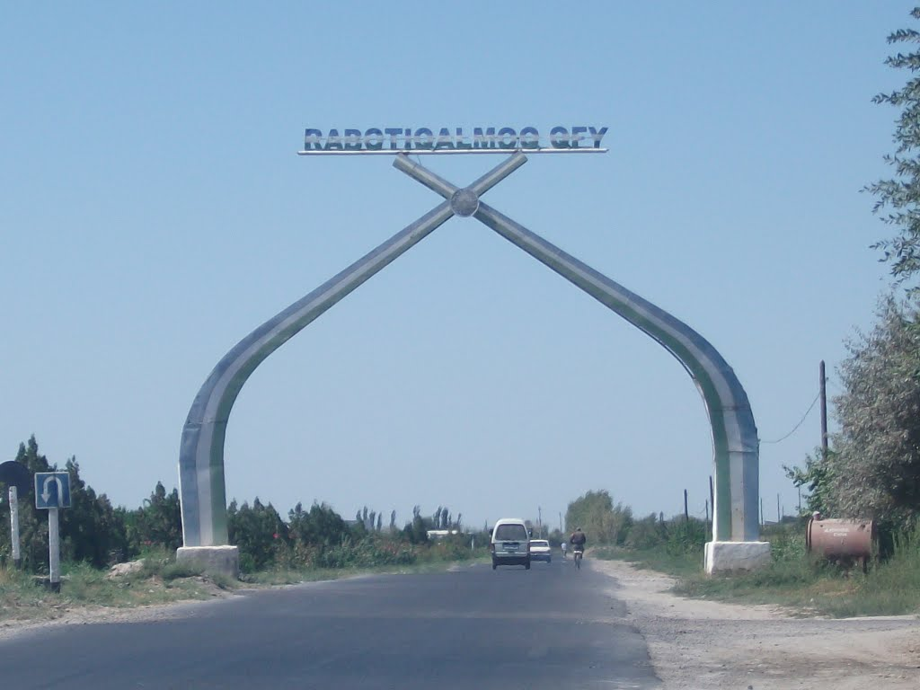 road in Madaniyat, Галаасия