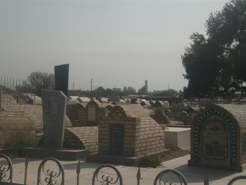 вид на старый город с городского кладбища, Галаасия