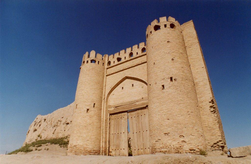 City gate Talipoch in Bukhara, Галаасия