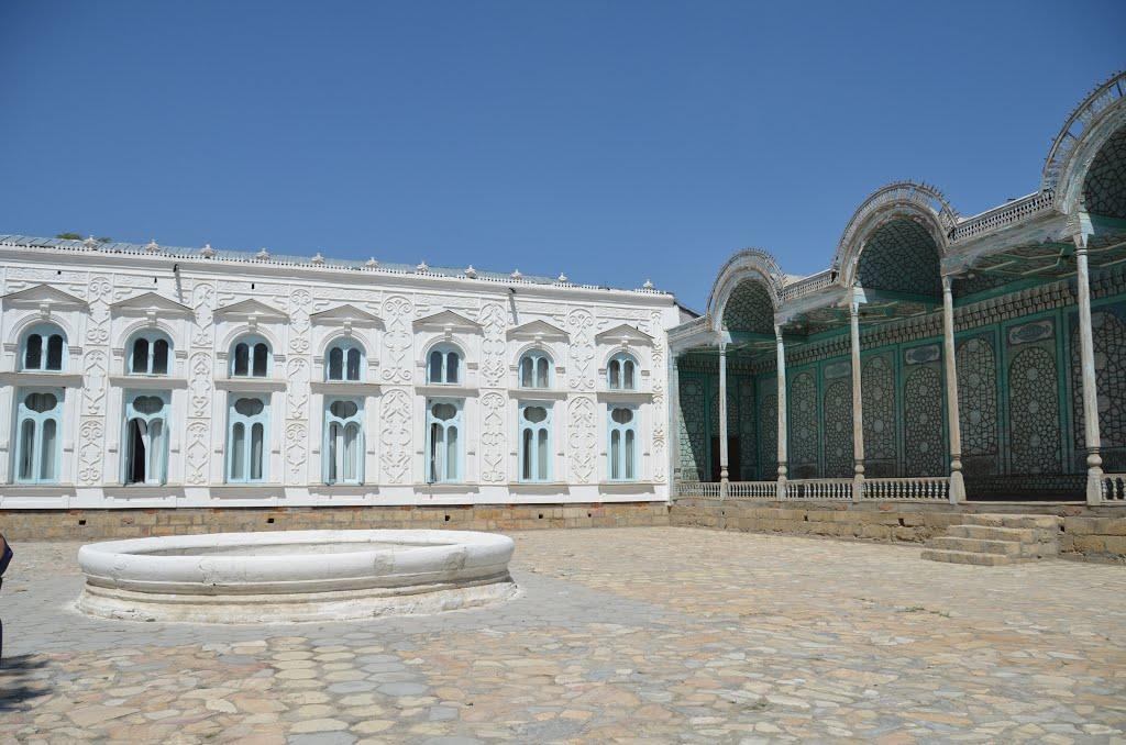 Ouzbébistan.Boukhara.Sittora i Mokhi Khossa,résidence dété des émirs., Галаасия