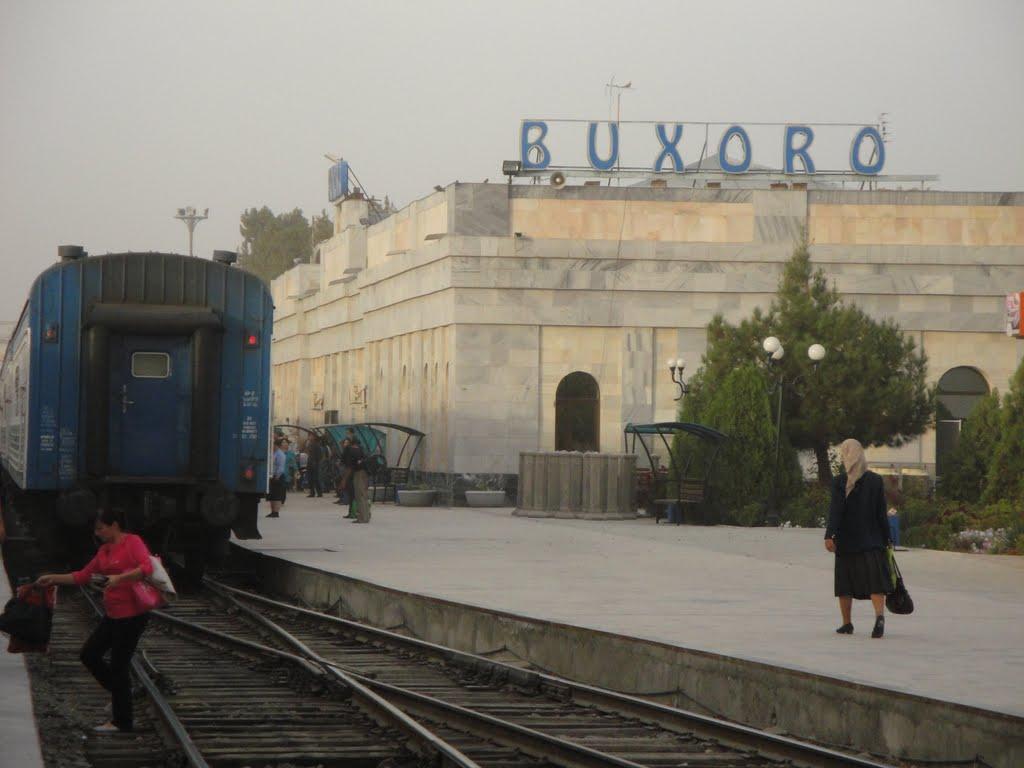 Bahnhof Buchara, Каган