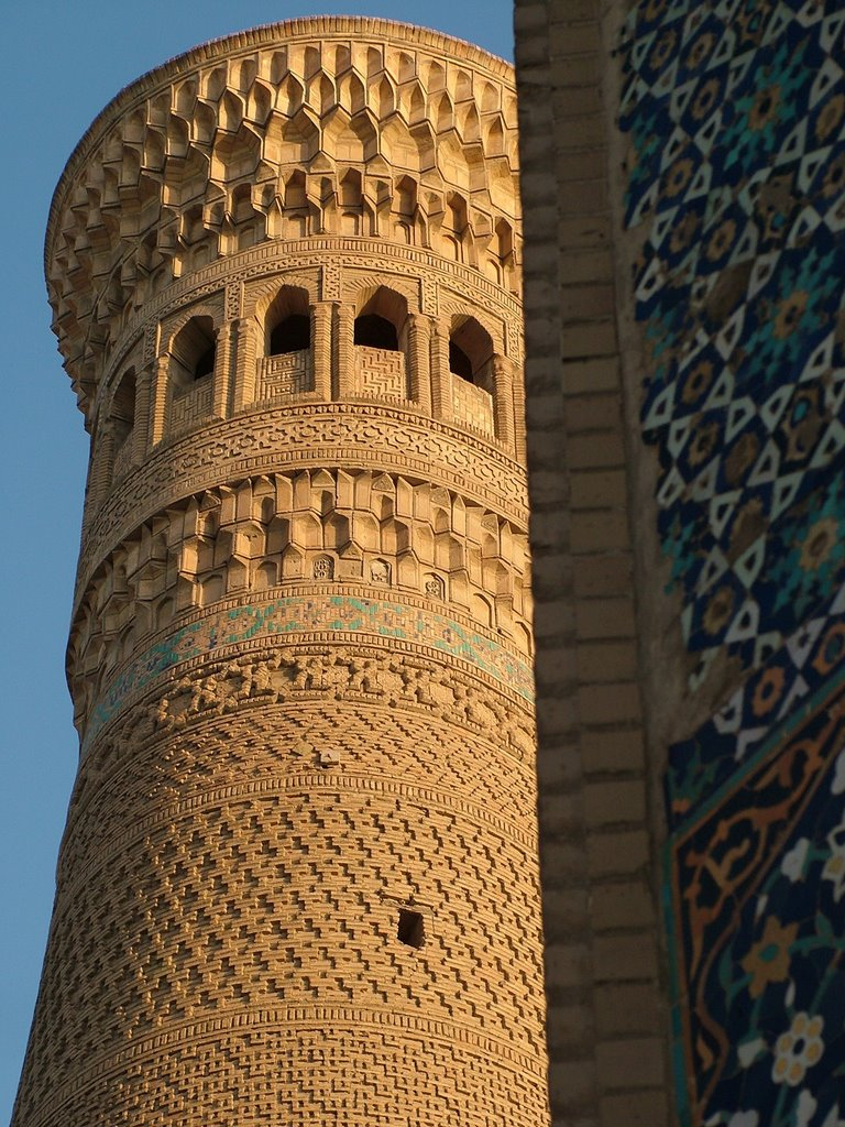 Kalyan or Kalon Minor (Great Minaret), Bukhara- Uzbekistan, Каракуль