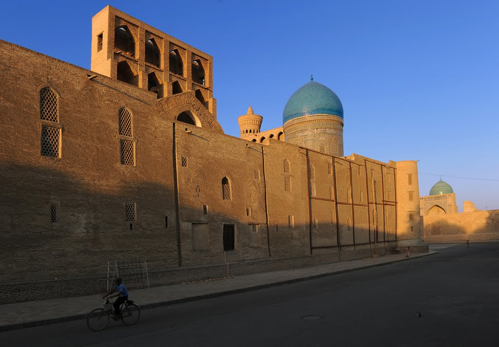 Morning of Madrasah Mir-i-Arab , Bukhara, Каракуль