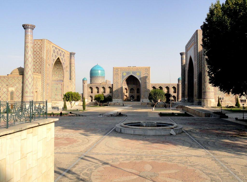 Registan Square (Samarkand, Uzbekistan), Самарканд