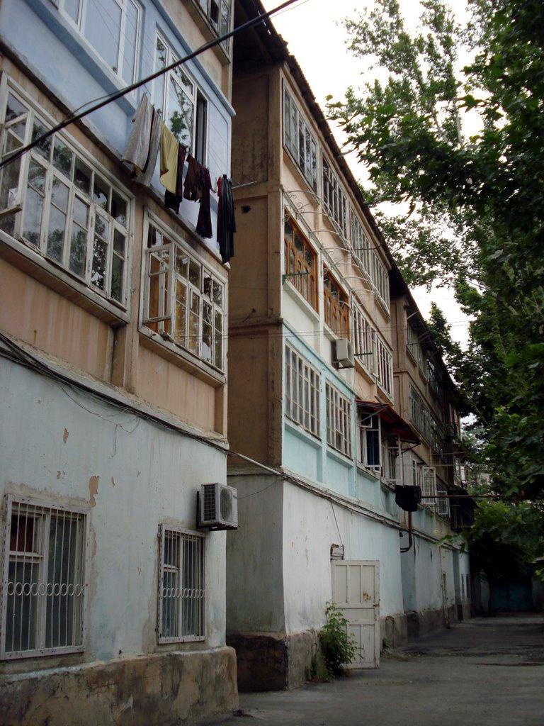 kokand istanbul caddesi backyard, Коканд