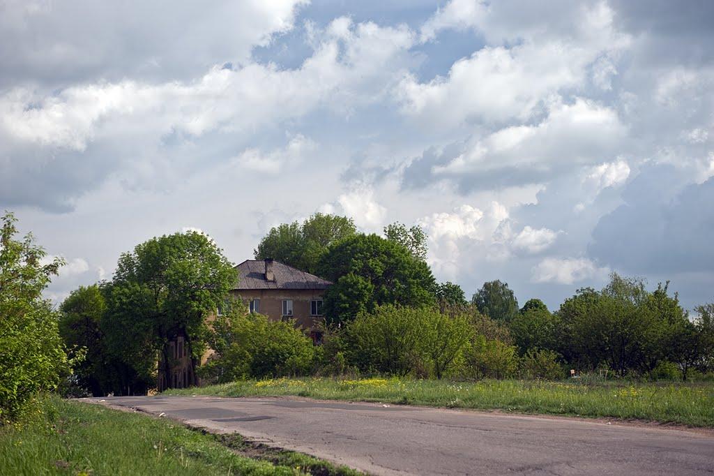 шахтный поселок, Жданов