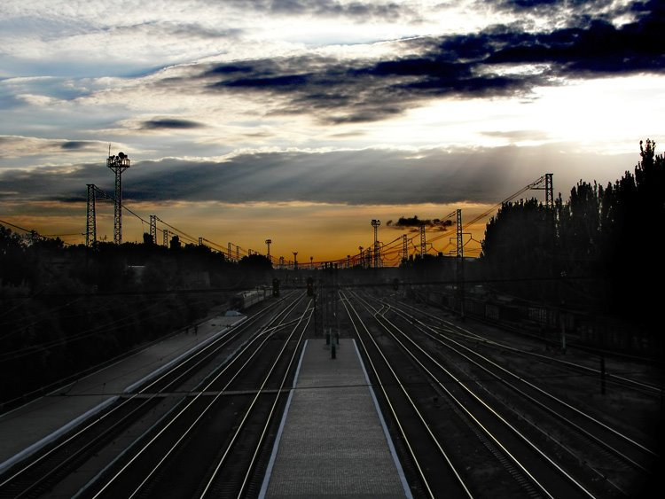 Красноармейск, ЖД вокзал, Красноармейск