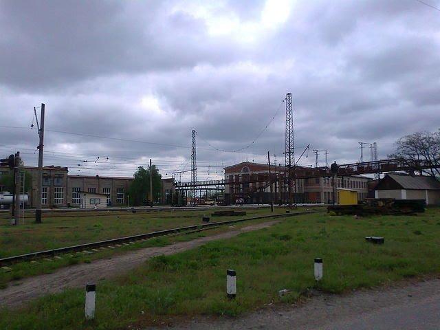 локомотивное депо, Красный Лиман