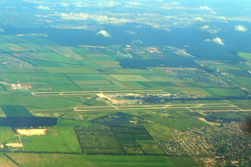 Borispol Airport and City of Borispol, Борисполь