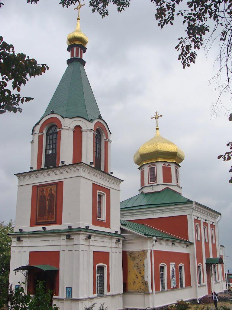 Вышгород. Церковь Бориса и Глеба 1861-63гг. / Vyshgorod. Church of Boris and Gleb of 1861-63гг., Вышгород