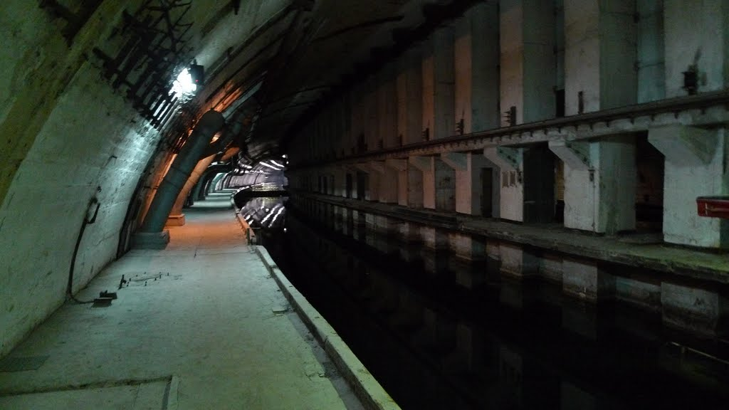 Inside the Balaklava nuclear submarine base, Балаклава