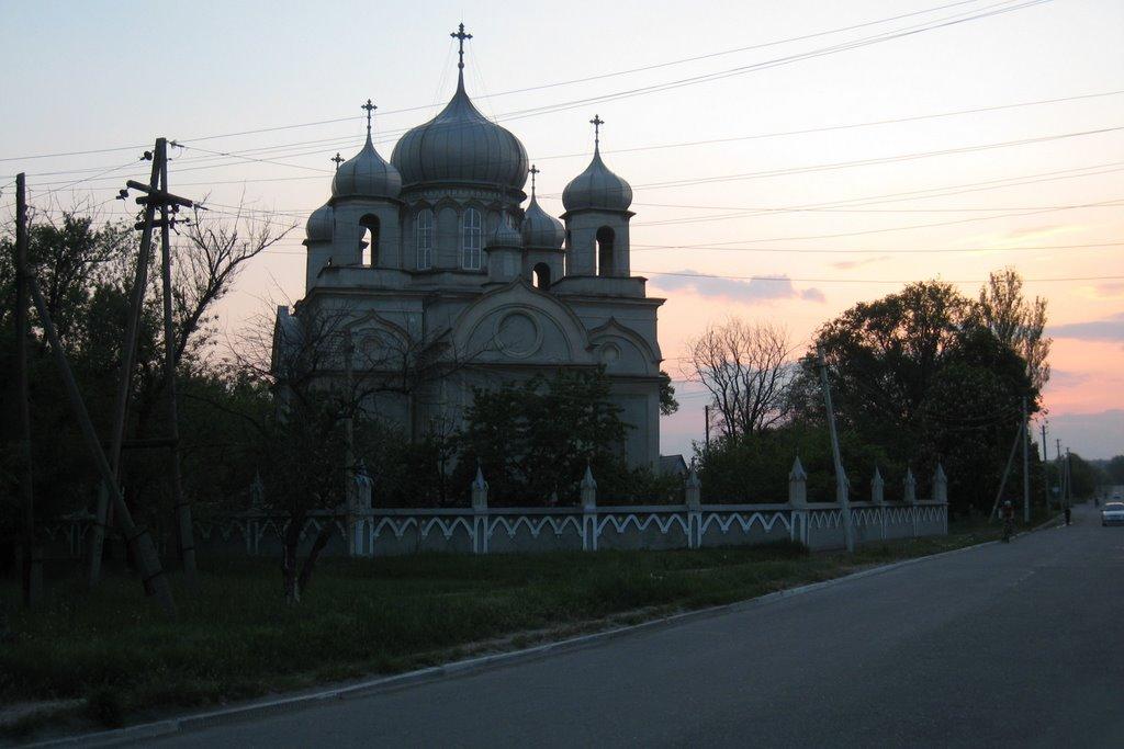 Церковь в Александровске. The church in Aleksandrovsk., Алексадровск
