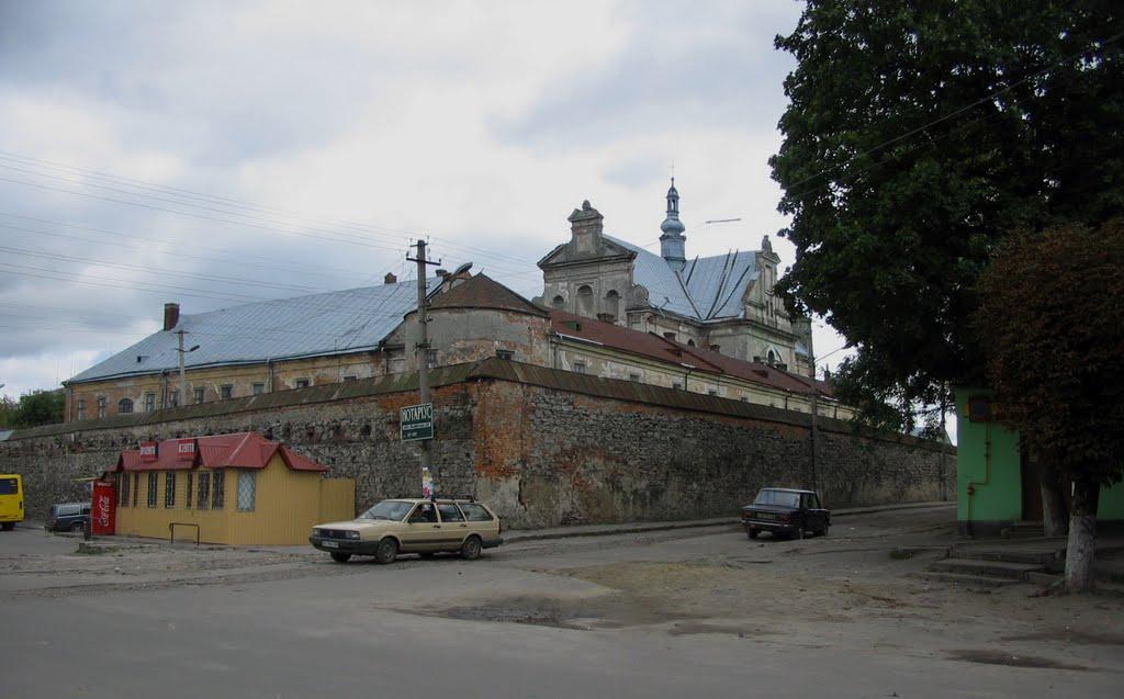 фортифікації старої Жовкви * old Zhovkva fortifications, Нестеров