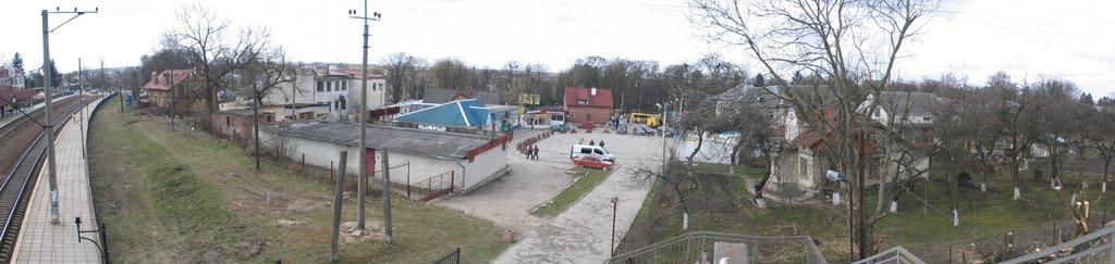 panorama Centr of Pustomyty, Пустомыты
