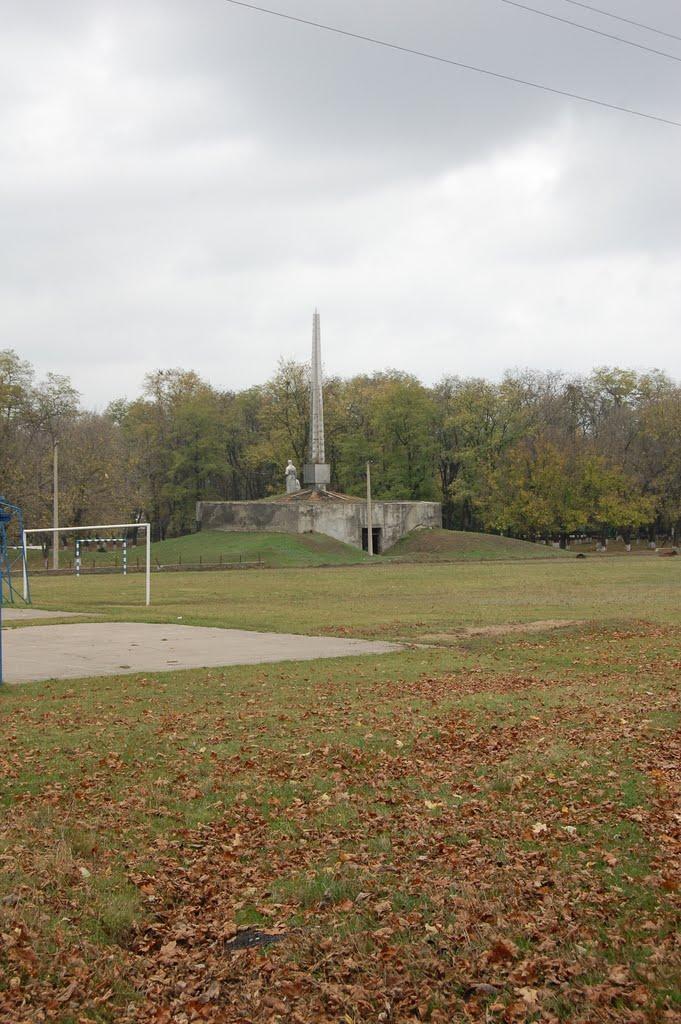 стадион и мемориал в парке, Братское