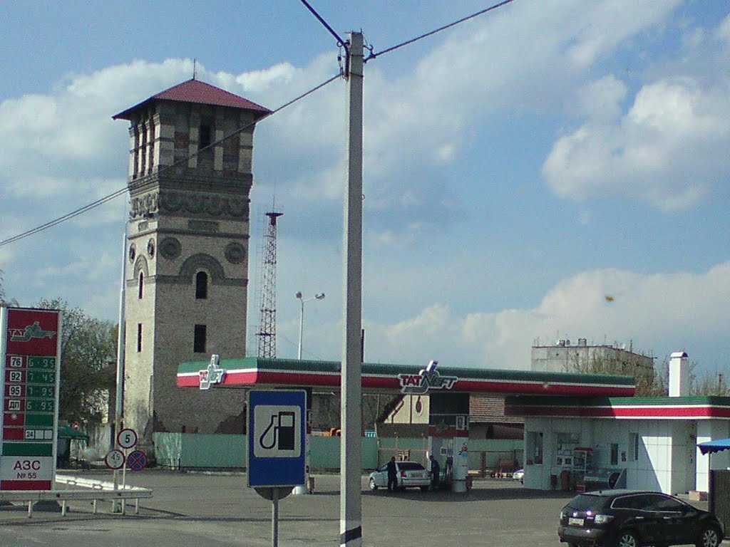 Здесь снимали фильм - Королева бензоколонки., Пирятин