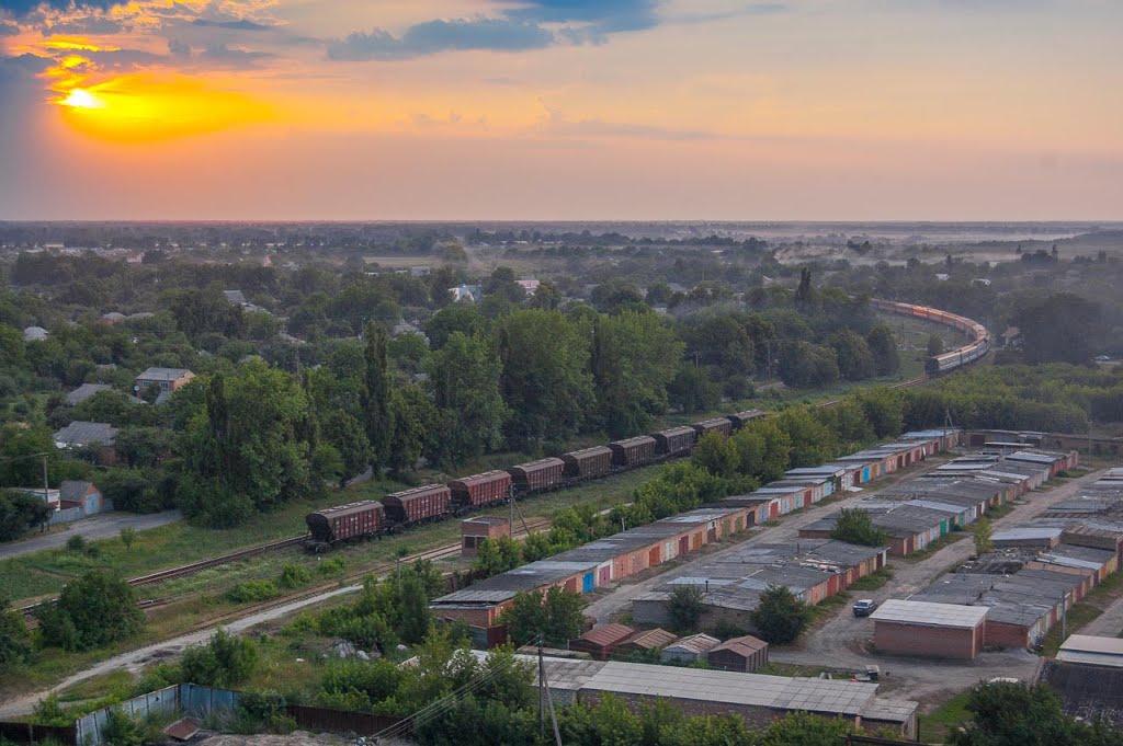 Вечерний поезд., Пирятин