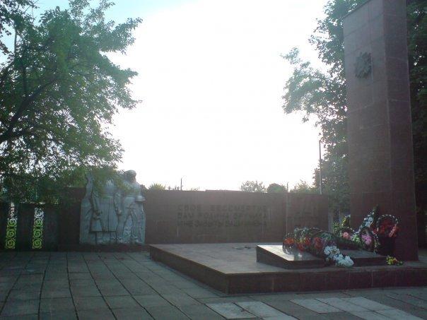 II World War memorial, Здолбунов