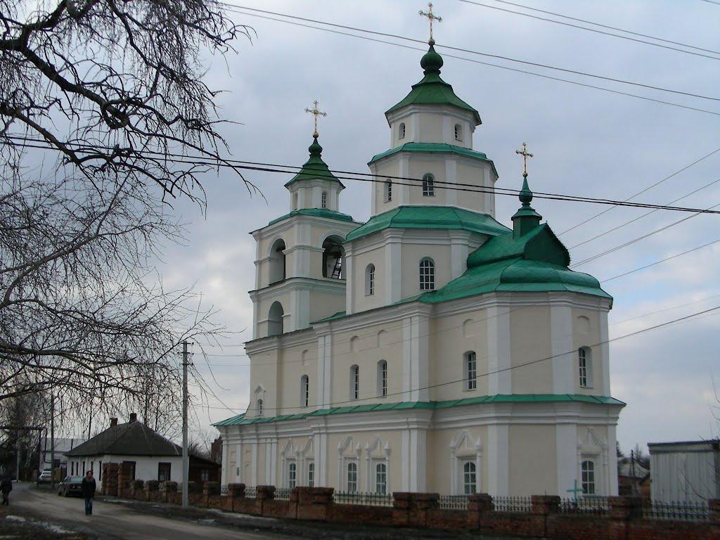 Путивль. Церковь Николая Казацкого. 1737г., Путивль