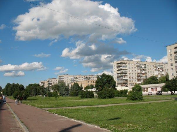 beautiful city Shostka, Шостка